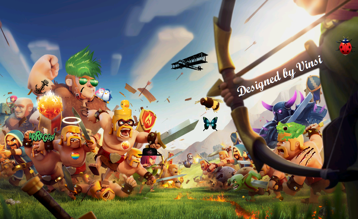 Clash Of Clans Unlimited Mod/Hack APK Download