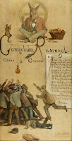 SANTIAGO RUSIÑOL Caragolada de Rusinyol, Casas y Clarasó - 1893