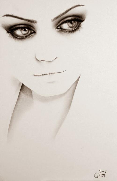 08-Artist-Ileana-Hunter-Minimalist-Hyper-Realistic-Portraits-www-designstack-co