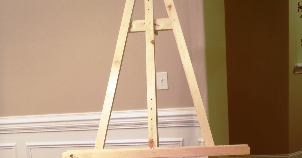 Lazy Liz on Less: Build a Cheap, Quick and Easy Artist Easel
