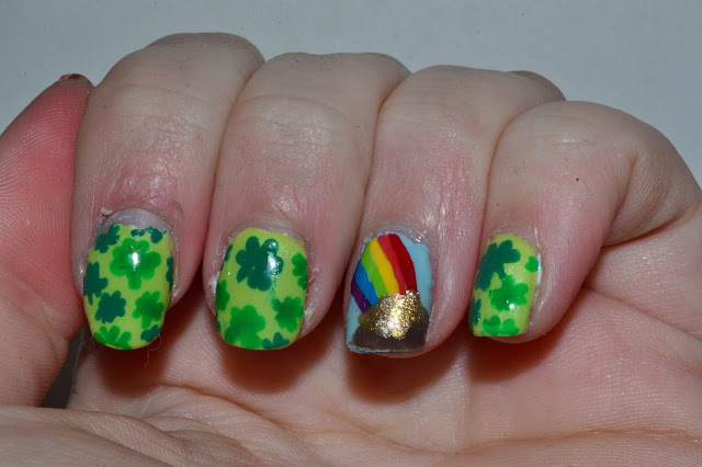 St. Patrick Day Nails by Elins Nails