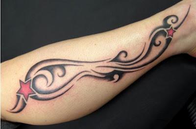 Dicas e fotos de Tatuagens no Braço Tribal