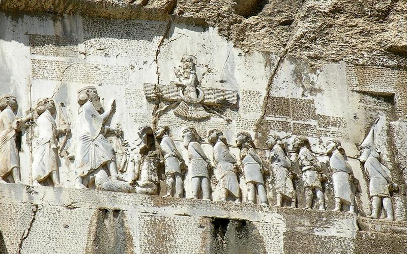En el camino de Ecbatana a Babilonia.