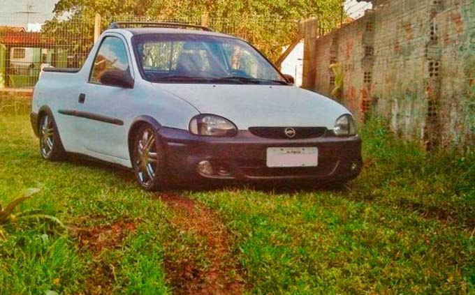 Pick-up Corsa Rebaixada