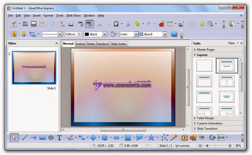 Libreoffice impress как сделать презентацию