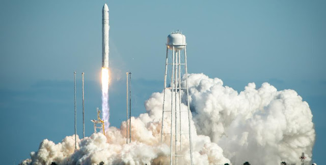 Antares test launch on April 21, 2013. Credit: Orbital