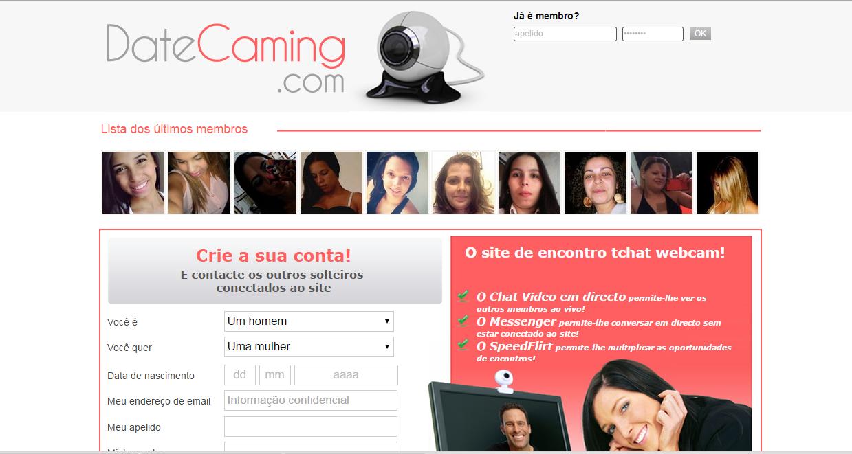 date caming gratuito gratis site online paquera relacionamento namoro encontro