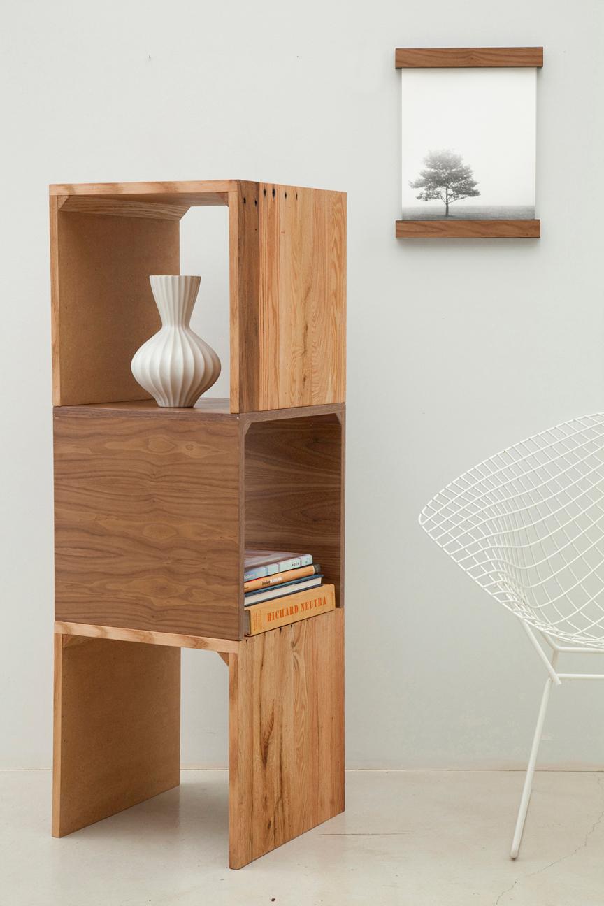 Tatiana doria cubos de madera para estantes - Madera para estantes ...
