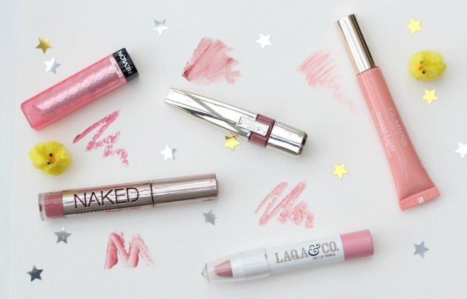 Spring lip swatches