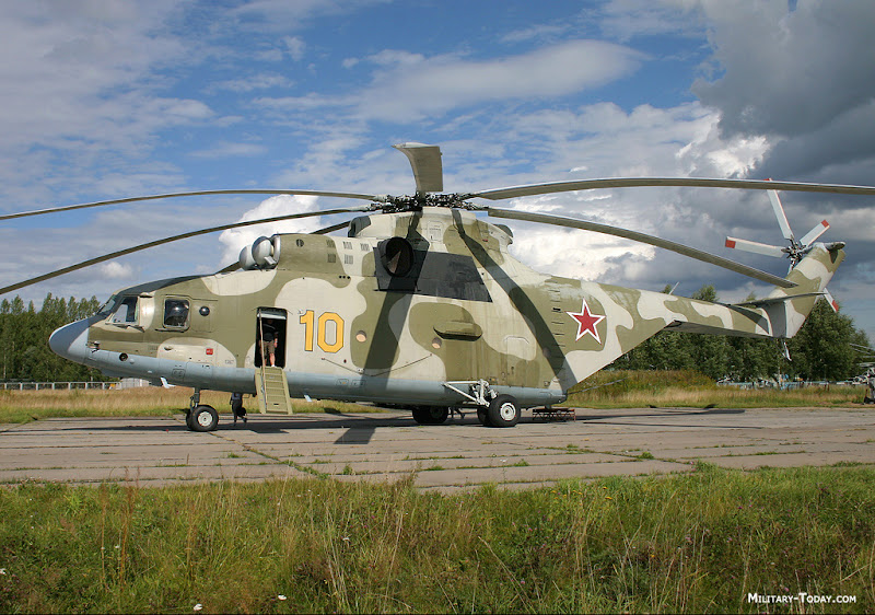 Mi-26 HALO Transport Helicopte