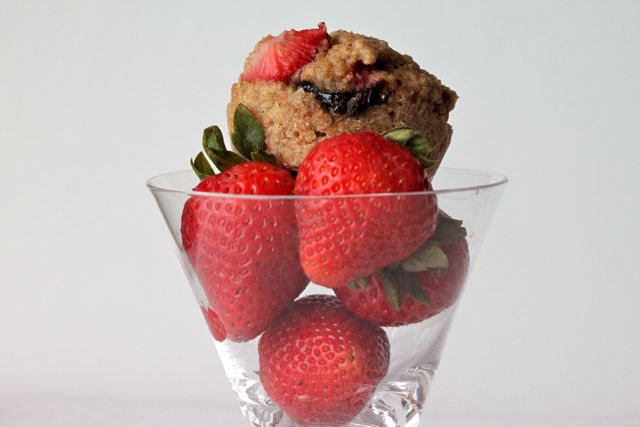 Simply Cooked: Strawberry and Nutella Muffins (Whole Grain ...