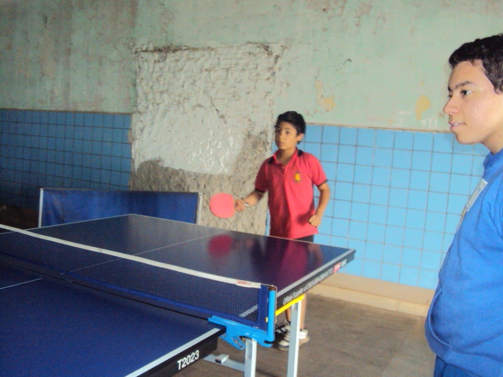 Torneo de tenis de mesa en el taller 2015