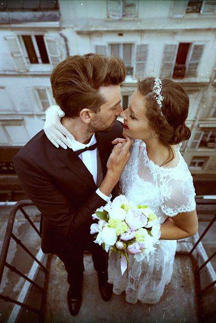 robe de mariage dentelle de Calais