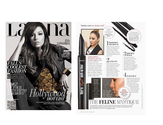 SpoiledLatina featured in Latina Magazine