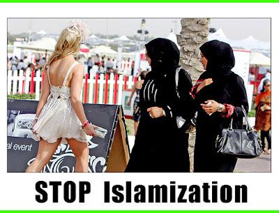 Το ισλάμ εισβάλει στην Γερμανία! δες πως φαίνεται σε άλλες χώρες  οι διαταγες των Εβραίων!