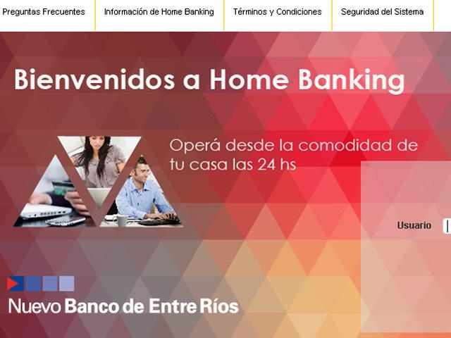 HOME BANKING BERSA