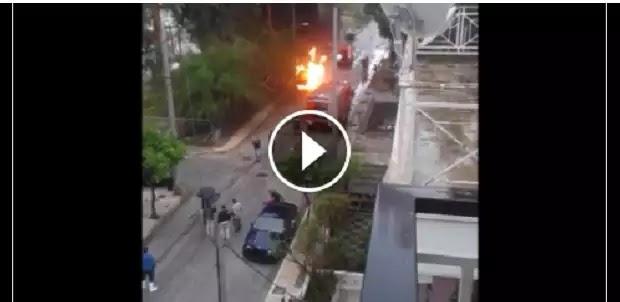 Γυναίκα βρέθηκε απανθρακωμένη μέσα στο αυτοκίνητό της στον Πειραιά