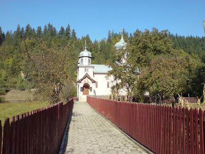 Biserica ortodoxa pe stil vechi Voinesti -Covasna
