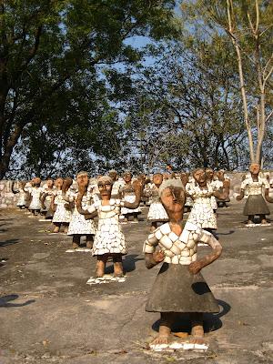 people sculptures nek chand