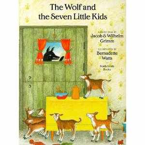 wolf and seven little kids The wolf and the seven little kids (a german tale) there was once upon a time an old goat who had seven little kids, and loved them with all the love.
