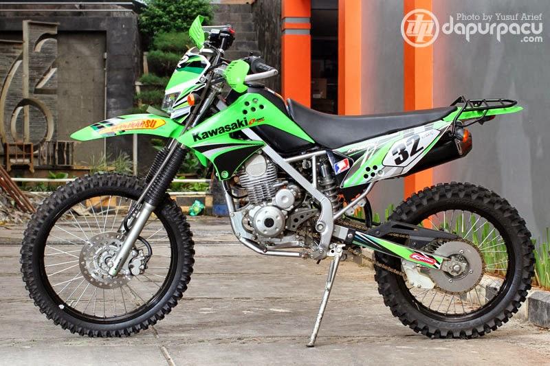 Gambar Modifikasi Motor Kawasaki Klx 150 Trail title=