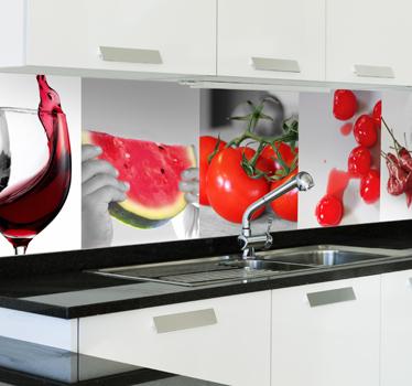 Qtlhd vinilos para decorar nuestra cocina - Vinilos decorativos para electrodomesticos ...