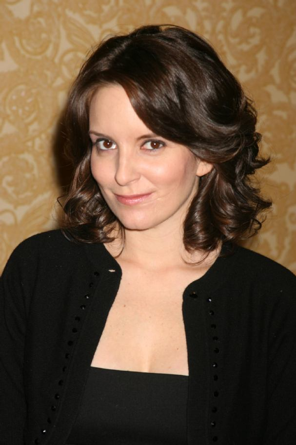 Tina Fey Half Up Hairstyles Tina Fey Long Hair Style Tips Tina Fey How