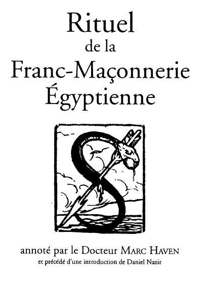 Rituel de la Franc-Maçonnerie Egyptienne