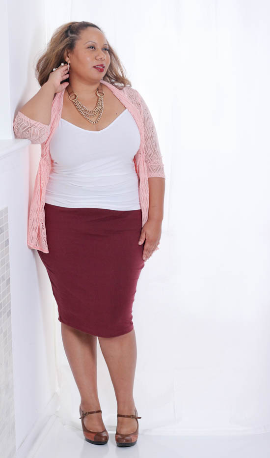 Breast Cancer Awareness with Kiyonna | Jewerely for All Sizes | Curvy Outfit Ideas | Petite Outfit Ideas | Plus Size Fashion | Fall Fashion | OOTD | Professional Casual Chic Fashion and Style Inspiration