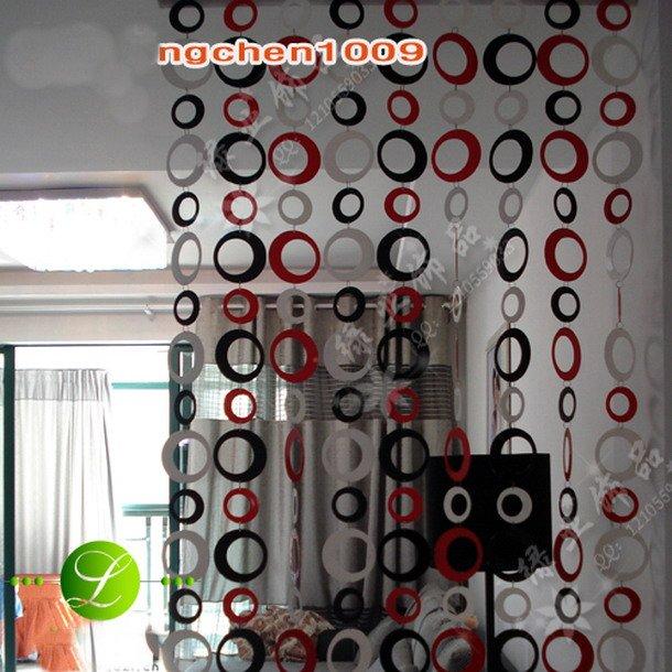 Dicas e ideias cortinas artesanais for Aros de plastico para cortinas
