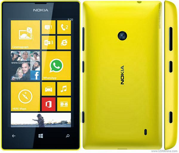 Harga Nokia Lumia 520 Terbaru dan Spesifikasi Lengkap