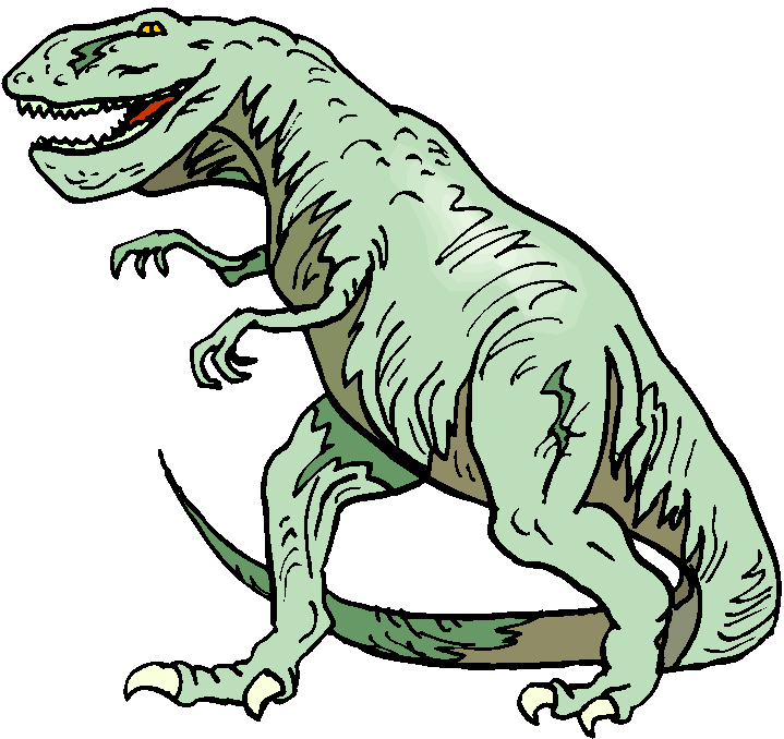 T-Rex Free Dinosaurs Clipart