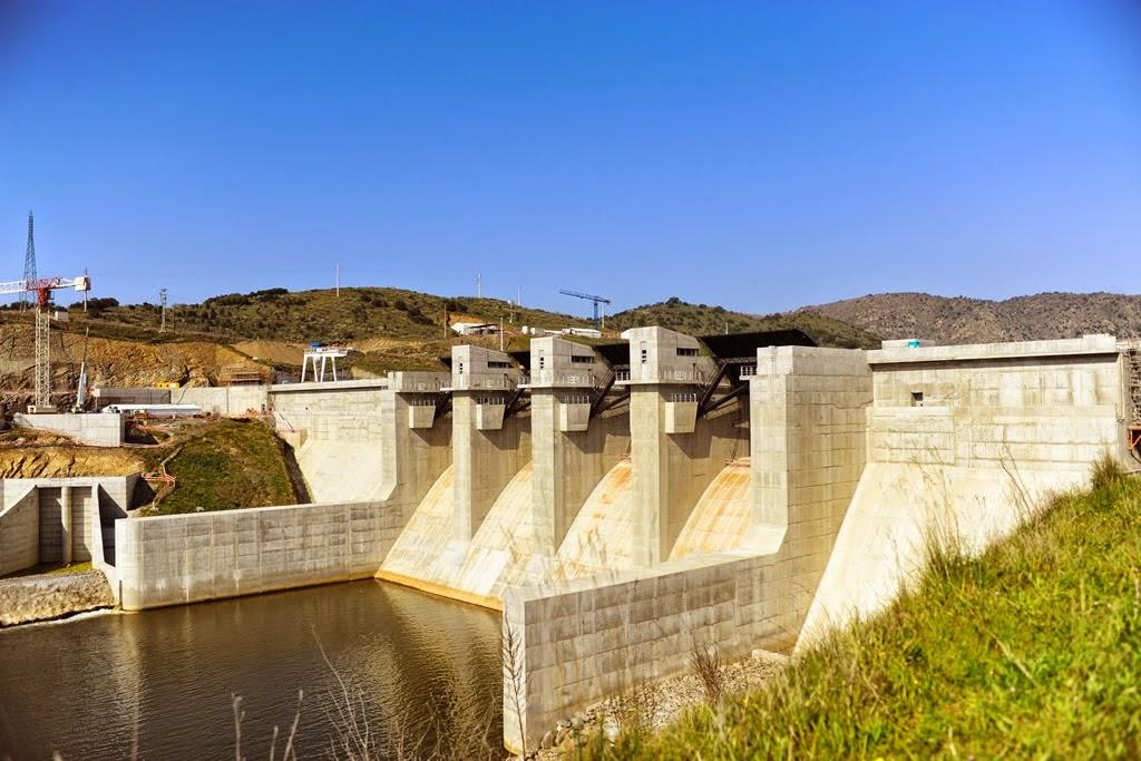 Barragem do Baixo Sabor - jusante