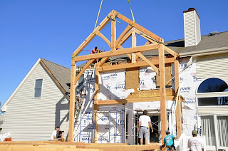 timber frame addition in new jersey