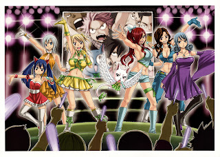Erza Scarlet Wendy Lucy Lissana Carla Cana Juvia Fairy Tail Girls Female Anime HD Wallpaper Desktop PC Background 2027