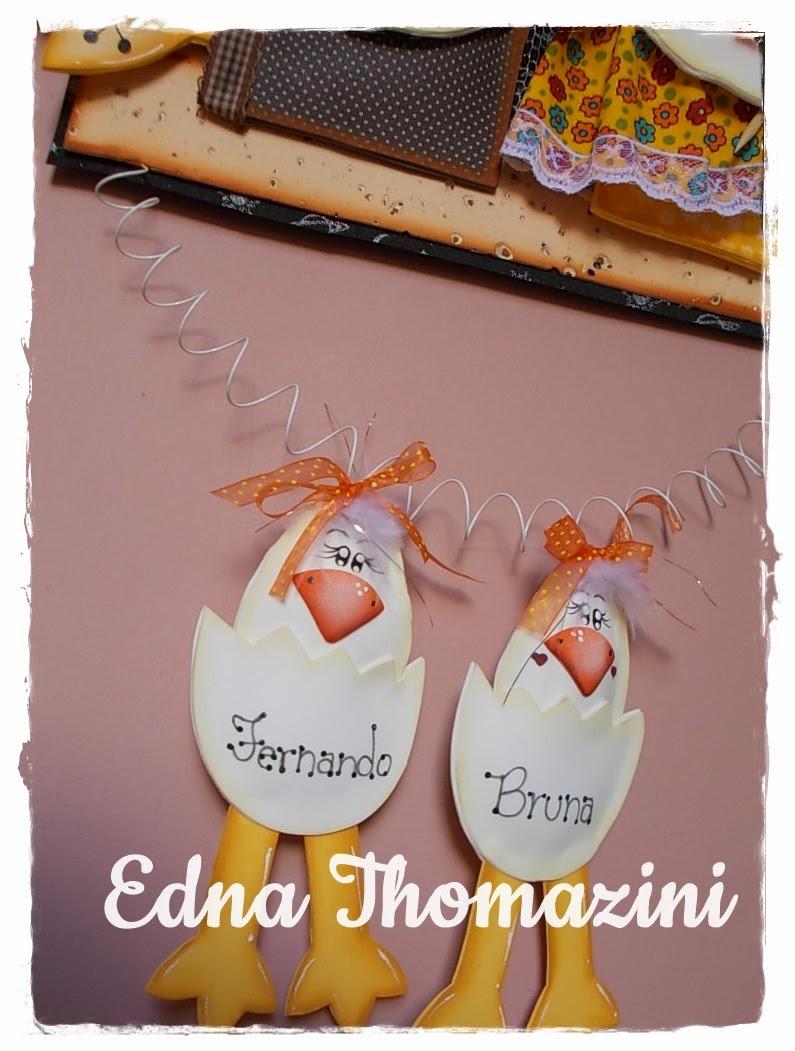 Edna Thomazini ~ Placa Galinhos Edna Thomazini Ateli u00ea Criativo