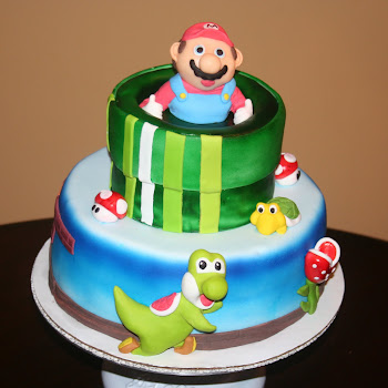 Mario Brothers Cake