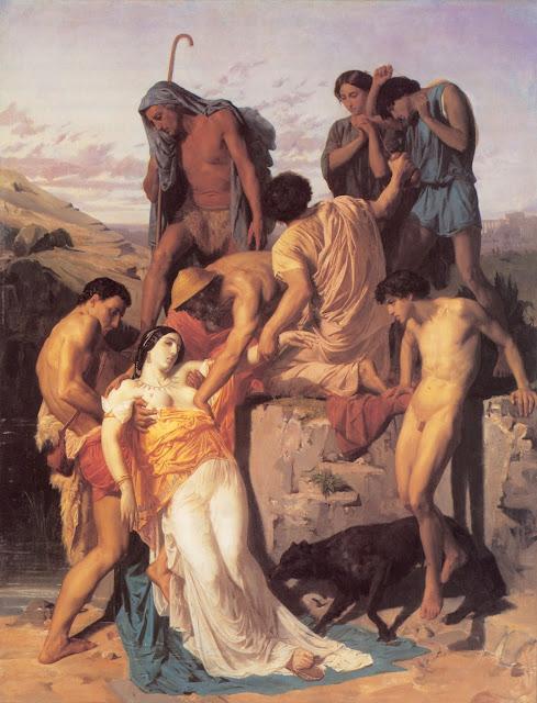 greek painting,mythological painting,William Adolphe Bouguereau