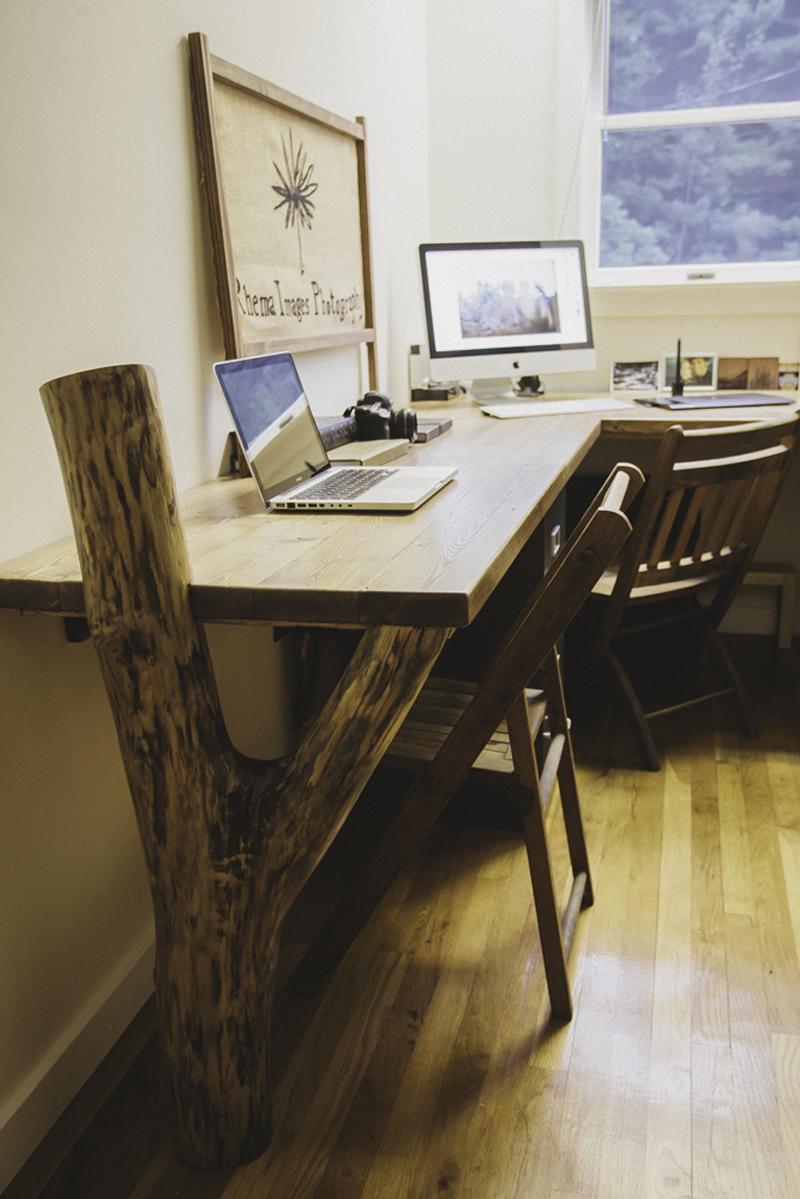 The Road Rustic Desk Project
