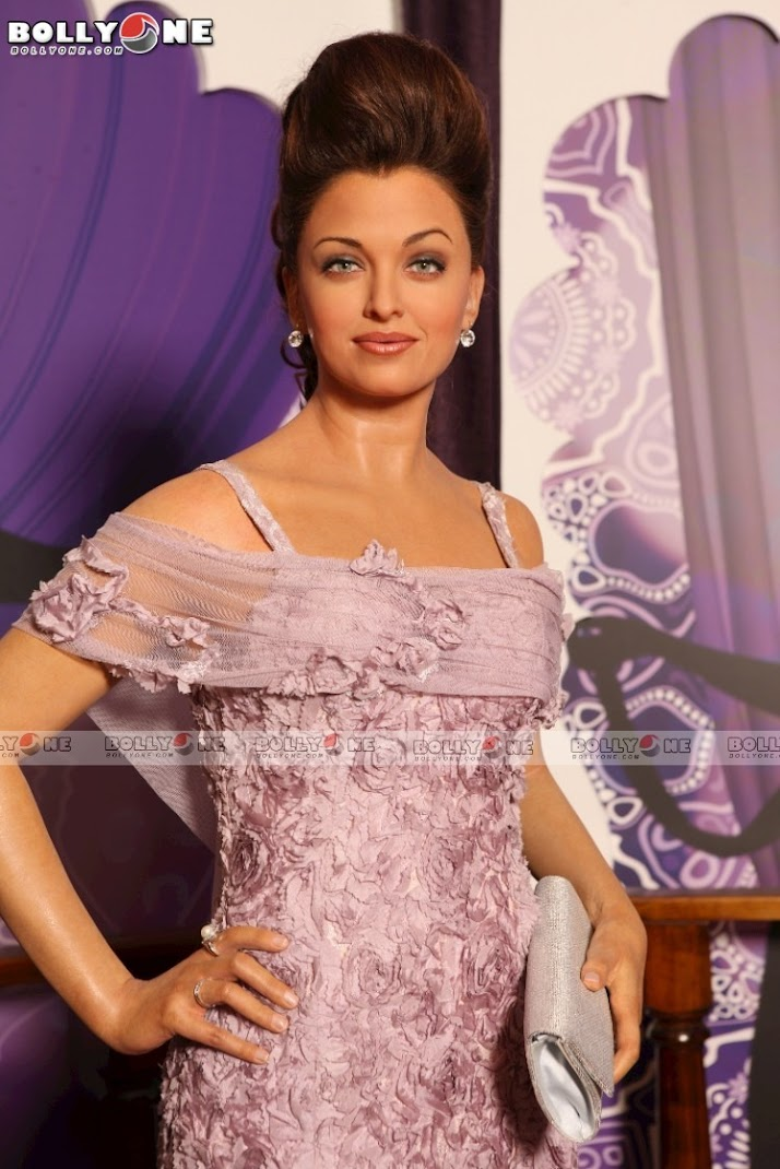 Aishwarya Rai at madame tussauds