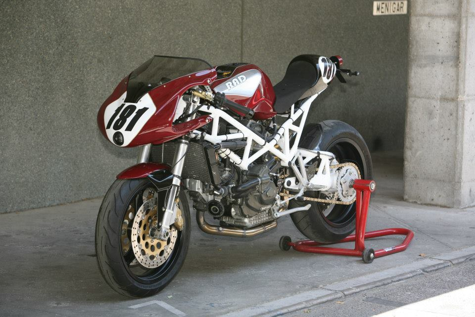 Racing Caf 232 Ducati St2 Quot Morcuera Racer Quot 2012 By Radical