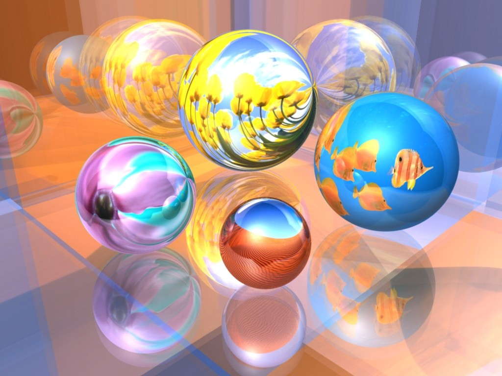 amazing 3d abstract ball - photo #46