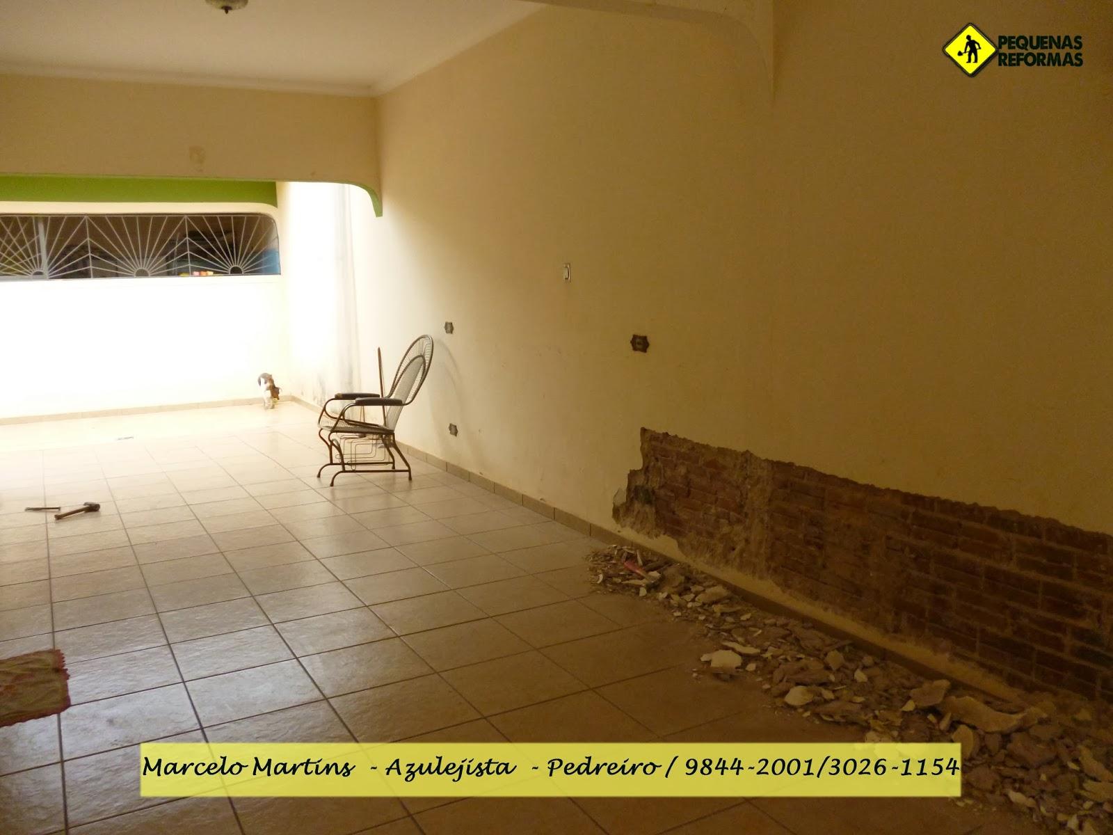 Impermeabilização e reboco Reforma em residencia com infiltração  #402508 1600 1200