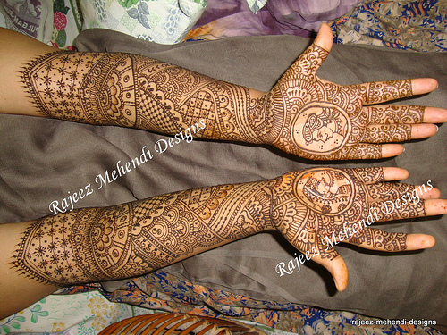 Mehndi Full Hand Pic : Full hand bridal mehndi designs mehndidesignsclub all