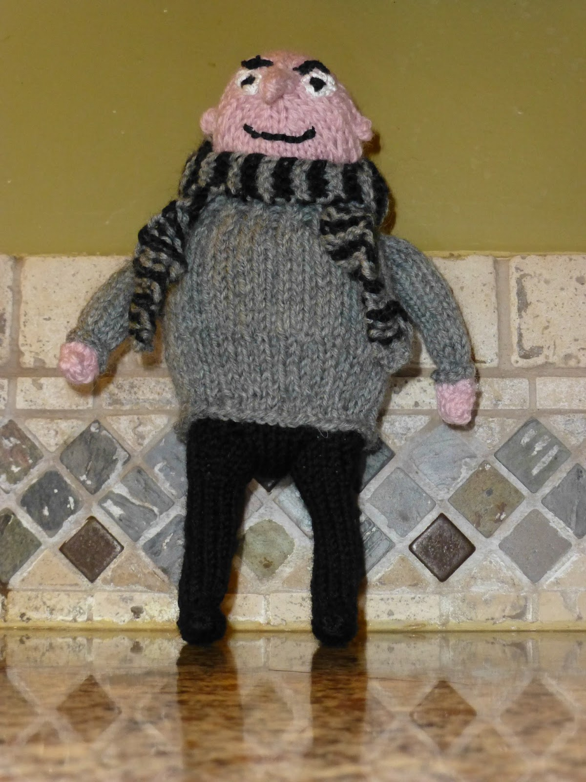 Despicable Me Knitting Patterns : Grannypurl: Despicable Me! Knitted