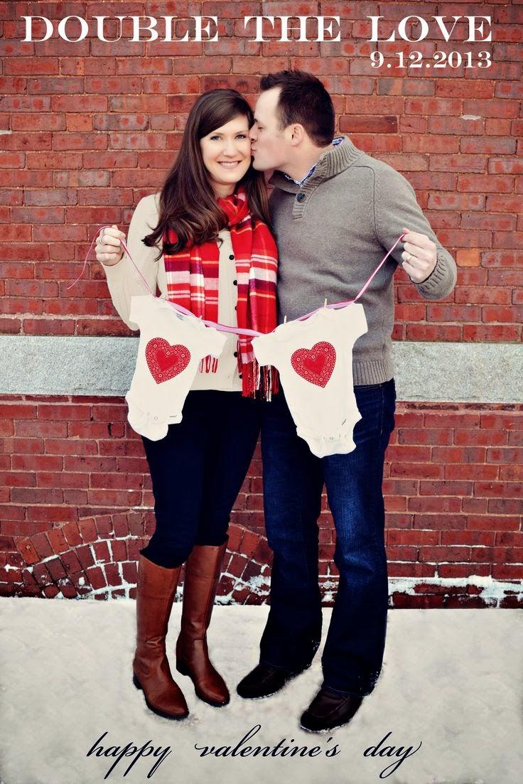 30 Ideias criativas para anunciar a gravidez de gêmeos