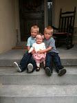 Garrett 6, Reese1, Weston 4