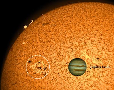 GRAN MACHA SOLAR 1654, 12 DE ENERO 2013
