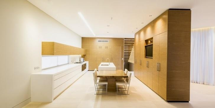 Interior of Beautiful Box House by Zouk Architects