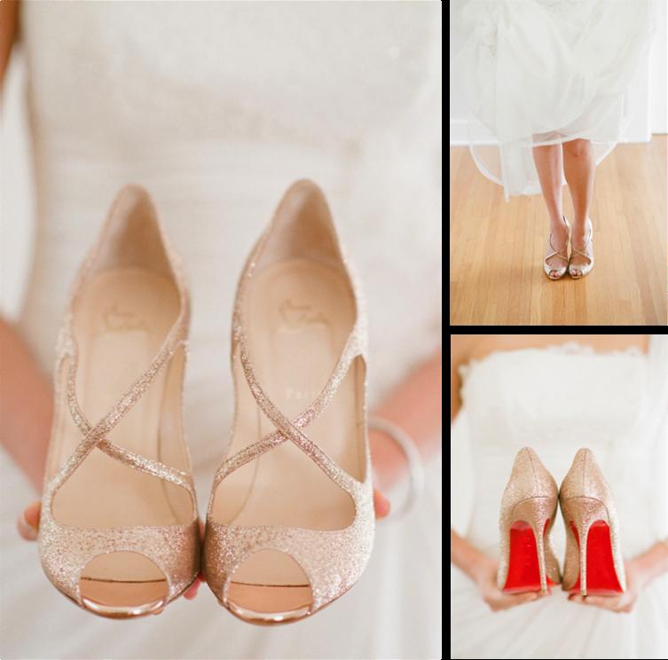 Zapatos glitter Laboutin